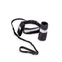 Kokoba Dog Running Leads Hands Free in Black