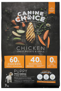 Canine Choice Puppy Small & Medium Grain Free Dog Food