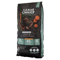 Canine Choice Senior Light Medium & Maxi Hundefutter - Lamm