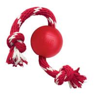 KONG Ball mit Seil Hundespielzeug