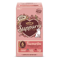 Lily's Kitchen Favourites Stew Multipack for Cats