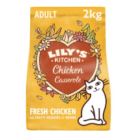 Lily's Kitchen Adult Dry Cat Food - Chicken Casserole