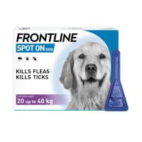 Frontline Spot On Flea & Tick Treatment Large Dog (20-40kg)