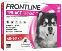 Frontline Tri Act pour Très Grand Chien (40-60kg)