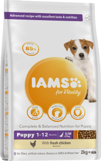 IAMS for Vitality Puppy Food Small & Medium Breed with Chicken