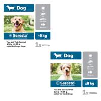 Seresto Flea and Tick Control Collar for Dogs