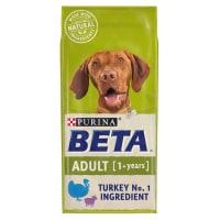 Purina Beta Adult 1+ Years Dry Dog Food - Turkey & Lamb