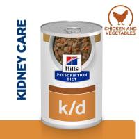 Hill's Prescription Diet Canine k/d Kidney Care Chicken Stew