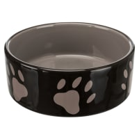 Trixie Ceramic Dog Bowl with Paw Prints
