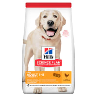 Hill's Science Plan Canine Large Adult 1-5 Light Poulet