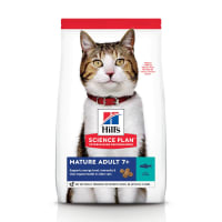 Hill's Science Plan Mature Adult 7+ Dry Cat Food - Tuna