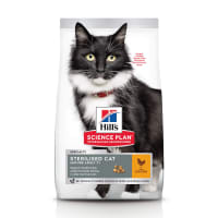 Hill's Science Plan Sterilised Mature Adult 7+ Dry Cat Food - Chicken