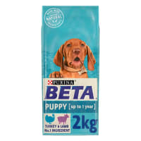 Purina Beta Puppy Dry Dog Food - Turkey & Lamb