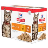 Hill's Science Plan Feline Adult 1-6 sélection de la volaille