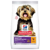 Hill's Science Plan Sensitive Stomach & Skin Small & Mini Adult Dry Dog Food - Chicken