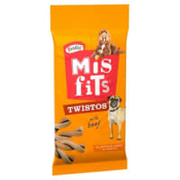 Misfits Twistos Dog Treats - Beef