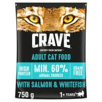 Crave Kat Droogvoer met Zalm & Witvis