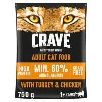 Crave Turkey & Chicken Dry Cat Food