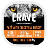 Crave Dinde et Poulet Loaf Dog Tray