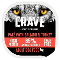Crave Pastete mit Lachs & Tuthahn für Hunde