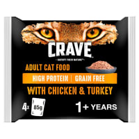 Crave Chicken & Turkey Loaf Cat Pouch