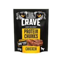 Crave Protein Chunks Natural Adult Dog Treat - Chicken