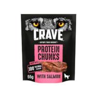 Crave Lachs Potein Chunks für Hunde