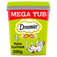 Dreamies Cat Treats Mega Tub - Tuna