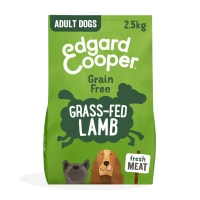 Edgard & Cooper Fresh Grass Grain Free Adult Dry Dog Food - Fed Lamb