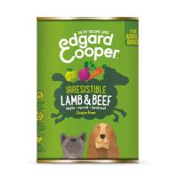 Edgard & Cooper Grain Free Irresistible Lamb & Beef Dog Food Tin Adult