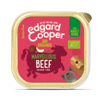 Edgard & Cooper Grain Free Bio Organic Marvellous Beef Dog Food Cup Adult