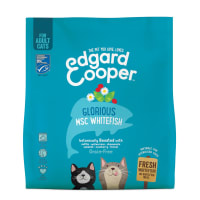 Edgard & Cooper Grain Free Glorious MSC Whitefish Dry Cat Food Adult