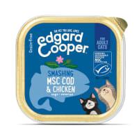 Edgard & Cooper Grain Free Smashing MSC Cod & Chicken Cat Food Cup Adult