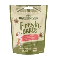 Harringtons Fresh Bakes Fish Bites Dog Treats - Baked Salmon