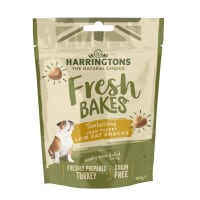 Harringtons Fresh Bakes Low Fat Snacks Dog Treats - Turkey