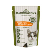 Harringtons Complete Adult Cat Wet Food - Chicken in Gravy