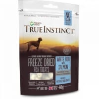 True Instinct Freeze Dried Treat Adult Dog Poisson Blanc et Saumon