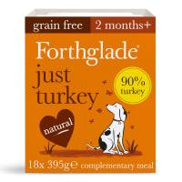 Forthglade Just 90% Turkey Grain Free Wet Dog Food