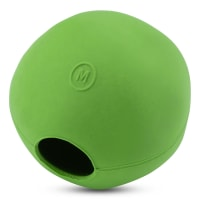 Beco Pets Treat and Chew Ball Large Dog Toy in Pink