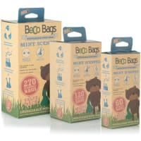Beco Mint Scented Degradable Dog Poop Bags
