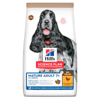 Hill's Science Plan No Grain Mature Adult 7+ Dry Dog Food - Chicken