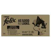 Felix As Good As It Looks Adult Wet Cat Food - Meat & Fish