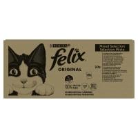 Felix Adult Wet Cat Food - Mixed Meat & Fish