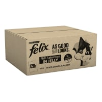 Felix As Good As It Looks Senior Wet Cat Food - Fish