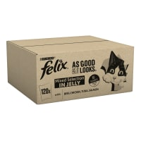 Felix As Good As It Looks Cat Food Mixed 120x100g