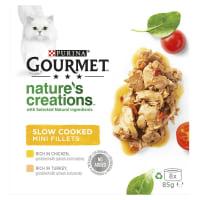 Purina Gourmet Natures Creation Adult Wet Cat Food - Meat