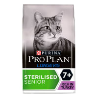 Purina Pro Plan Feline Longevis Sterilised 7+ Senior Dry Cat Food
