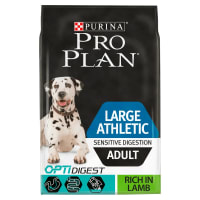 Purina Pro Plan Canine Optidigest Large Atheletic Sensitive Digestion Adult Dry Dog Food Lamb
