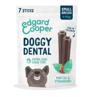 Edgard & Cooper Strawberry & Mint Small Doggy Dental Treat