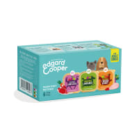 Edgard & Cooper Natural Adult Grain Free Wet Dog Food Multipack - 6 x 100g - Chicken & Turkey, Lamb & Beef and Game & Duck